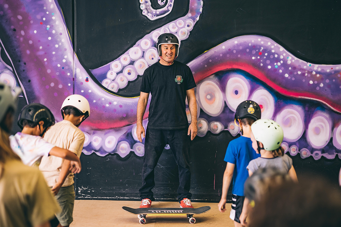 Matty Day at Skate and Create Photo by Jay Black